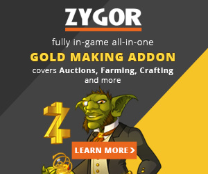 Zygor's Gold Guide, Make a Serious Stash