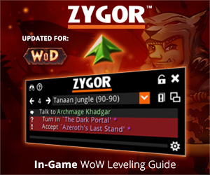 Zygor's Warlords of Draenor Leveling Guides